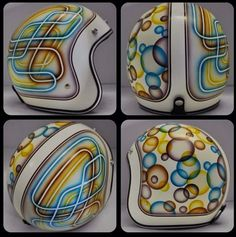 chemical candy custom helmet 2