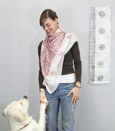 Om scarf