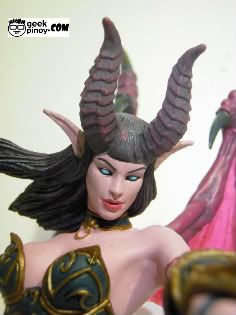 Succubus Demon Amberlash Action Figure Review Geek News, World Of Warcraft, Action Figures, Geek Stuff, Princess Zelda, Fictional Characters, Image, Art, Geek Things