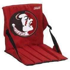 Coleman Florida State Seminoles (FSU) Garnet Stadium Seat Cushion