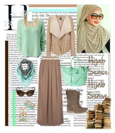 """""""Untitled #135"""" by hijab-sense ❤ liked on Polyvore featuring Pieces, Humble Chic, So Nice, Oasis, Jil Sander, Witchery, Forever New, Moschino, Atmos&Here and women's clothing"""
