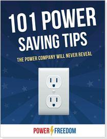 101 Electric Power Saving Tips