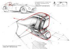 Monoposto/interno Ispirazione Ferrari on Behance