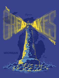 The Great Lakes States Project by Meng Yang.