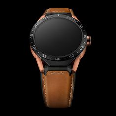 Tag Heuer's Connected watch gets a new 18k rose gold option.