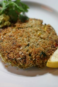 NYT Cooking: This recipe came to us by way of Garrett Oliver, the brewmaster of Brooklyn Brewery. He believes beer and wine should always be served with food. And beer, he contends, is often the better choice.<br/><br/>With these crab cakes, Mr. Oliver, an excellent cook who is widely-known for his successful beer-and-wine pairings, recommends an India pale ale. The bitterness of the hop...