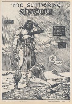 The Savage Sword Of Conan Issue #20 - Read The Savage Sword Of Conan Issue #20 comic online in high quality
