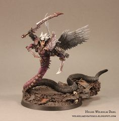 WilhelMiniatures: Fulgrim & Slaanesh Emperors Children