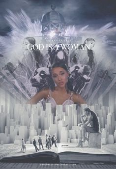Ariana Grande - God is a woman (Poster by Panchecco on DeviantArt Ariana Grande Poster, Ariana Grande Fotos, Ariana Grande Wallpaper, My Everything Ariana Grande, Kylie Jenner Look, Wattpad Book Covers, Ariana Grande Sweetener, Girls Run The World, Women Poster