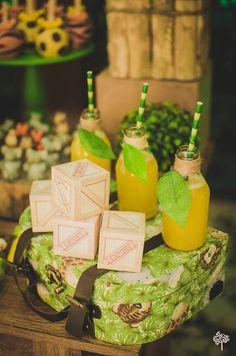 Drinks from a Jungle Safari Birthday Party via Kara's Party Ideas KarasPartyIdeas.com (25)