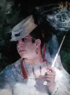 Pierre-Auguste Renoir - Portrait of Lise