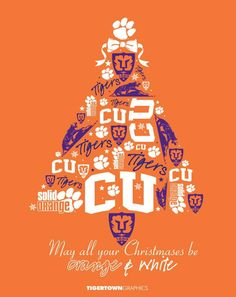 Merry Christmas and Happy Holidays Clemson Tiger Nation!!!