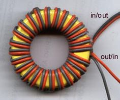 Simple current balun on powdered iron former