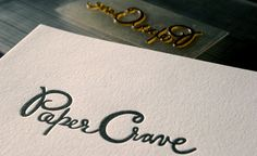 How to do amazing letterpress at home