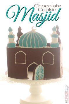 Want to make something fun and festive for the table at Eid? Or even just for some fun with the kids? Try this chocolate cookie masjid with instructions, recipes and template.