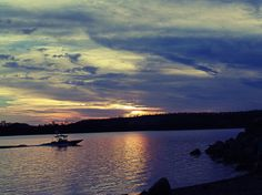 Sunset across the dam during a camping trip Jan 2014. Taken using my inexpensive Sony H200 on iAuto.