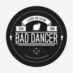 I feel like I need to find this in an actual pin.  and wear it to weddings so people understand that i KNOW i'm a bad dancer. :)
