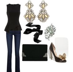 Silver Sunset Boulevard Drop Earrings outfit inspiration