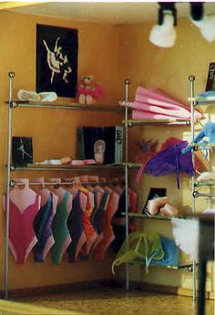 "Showcase ""the store of dance""    Scale: 1/12th. Awesome Dollhouse Dance Store."