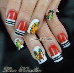 Acrylic nails by Lisa Korallus
