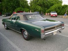 1967 Chevrolet Chevelle SS 396 Convertible