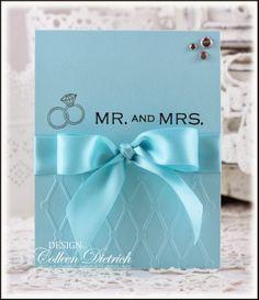A Tiffany-Style Wedding Card | Dietrich Designs