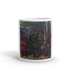 Love this coffee mug? Check it out and make your purchase - with each purchase you make a portion of the profit benefits refugees and aspiring London artists! Online Printing, Coffee Mugs, Artists, London, Make It Yourself, Simple, Unique, Check, How To Make