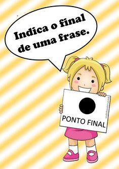 Sinais de pontuação: Práticas Canal E, Portuguese, Digital Marketing, Homeschool, Memes, Books, Kids, Zero, 1