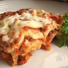 Łatwa i szybka lasagne @ allrecipes.pl