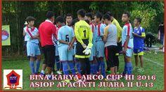BINA KARYA ARCO CUP III 2016 ASIOP APACINTI JUARA II U-13