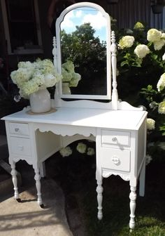 Vintage Hand Painted French Country Shabby and Chic by JunqueChic, $485.00