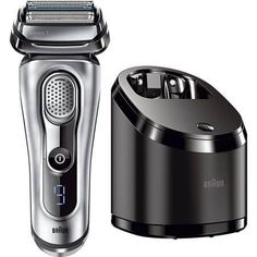 Braun Series 9 Men's Electric Foil Shaver / Electric Razor with Cleansing Center, Razors, Shavers, & Cordless Shaving System Best Electric Shaver, Electric Razor, Best Shavers, Unique Gifts For Boyfriend, Braun Shaver, 40 Year Old Men, Foil Shaver, Mens Razors, Wet Shaving