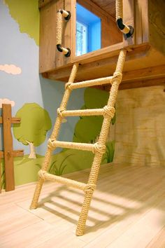 Cool Kids Room Design with Duplicate Tree House Decorating