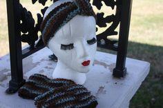 Women's Crochet Ear Warmer & Boot Cuff Set by SisterHippies