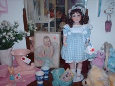 Greenville Cottage Antiques & Collectibles ~ the baby room