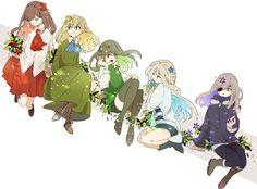 Rpg Maker, Ib Game, Game Art, Ib And Garry, Mad Father, Satsuriku No Tenshi, Rpg Horror Games, Japanese Cartoon, Witch House