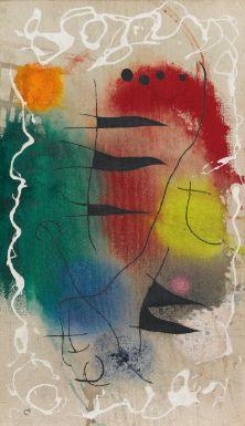 """""""L'aube II/II"""" Joan Miró - Sotheby's"""