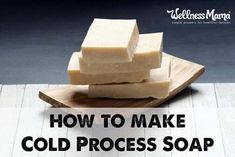 Learn how to make cold process soap with natural oils and lye in this simple tutorial and find out how this differs from hot process slow cooker soap.