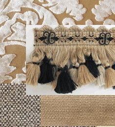 Design Nashville custom bedding and draperies European Manor style.