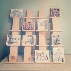 Hand and Seek: Art Show / Craft Fair Tips and Advice with Booth Display Photos for Inspiration. display idea