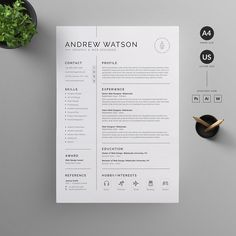 9 Architecture Resume Design Resume CV Template Clean Modern and Professional Resume and Letterhead design Fully customizable easy to use and replace color & text resume cv template job application impression minimal business in Graphic Design Resume, Letterhead Design, Cv Design, Clean Design, Layout Design, Resume Tips, Resume Cv, Resume Examples, Business Resume