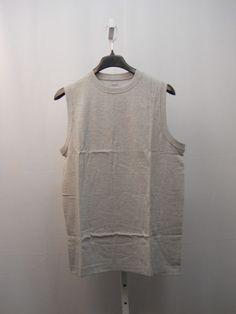 SIZE L Mens Muscle T Shirt ROUNDTREE & YORKE SPORT 90% Cotton Solid Grey   #RoundtreeYorkeSport #BasicTee