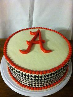 Alabama Football Cake