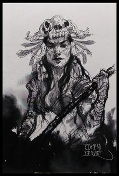Sketch, rohan baikar on ArtStation at https://www.artstation.com/artwork/OgL3J