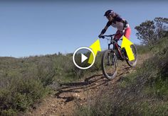 Learn the five key points to riding in the proper downhill riding position.
