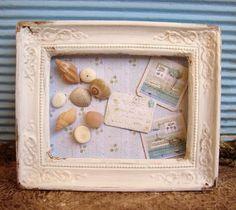 seashells and postcards