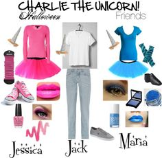 Ok so about a year ago, me, my best friend caroline and my friend Bryce always recited every Charlie the unicorn episode. We always cracked up and had the best time. And then I suddenly had the brilliant idea that all three of us should dress up like Charlie and the two annoying unicorns and act out some scenes! And I still really wanna do it...so very much!!!