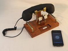 iPhone Dock  Phone  iPod Dock  Phone  Charger and by woodguy32, $78.00