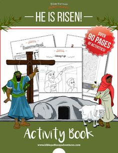 He is Risen! Activity Book (crucifixion and resurrection of the Messiah)