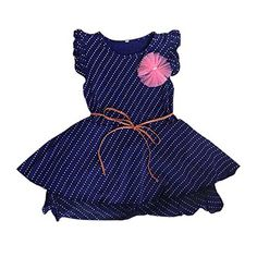 Weixinbuy Kid Baby Girls Polka Dot Sleeveless Princess Party Dress 34Y *** Want additional info? Click on the image.
